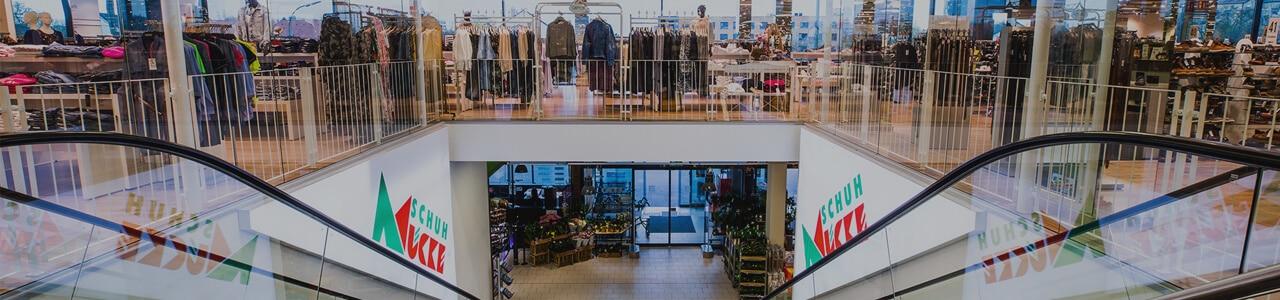 Shopping-Paradies für die ganze Familie bei Schuh Mücke in Ingolstadt