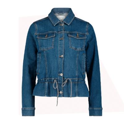 Cartoon Jeans Jacke für Damen